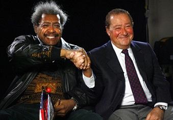 Don King y Bob Arum