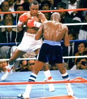 Foto: Ray Leonard vs. Marvin Hagler, fue combate de determinación del verdaderos monarcas de los pesos medianos del boxeo organizado.