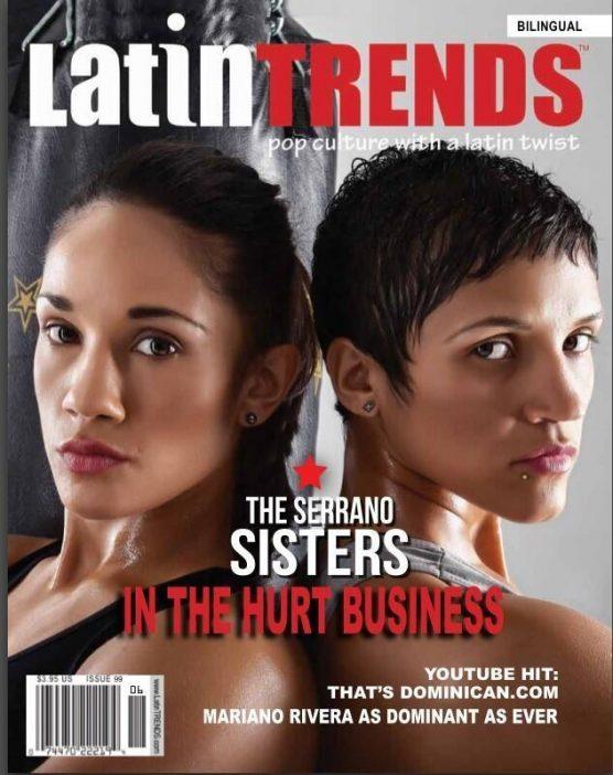 Las hermanas Amanda y Cindy Serrano