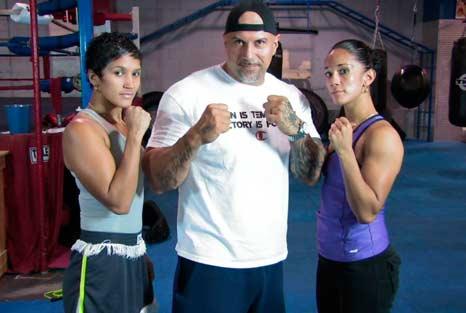 Cindy Serrano, Jordan Maldonado y Amanda-Serrano