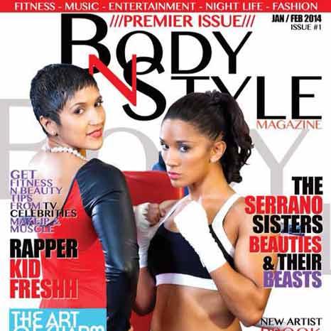 Cindy-y-Amanda-Serrano-en-portada-de-su-revista-Body-N-Style