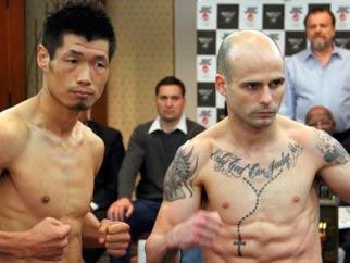 Hasegawa vs Kiko Martínez