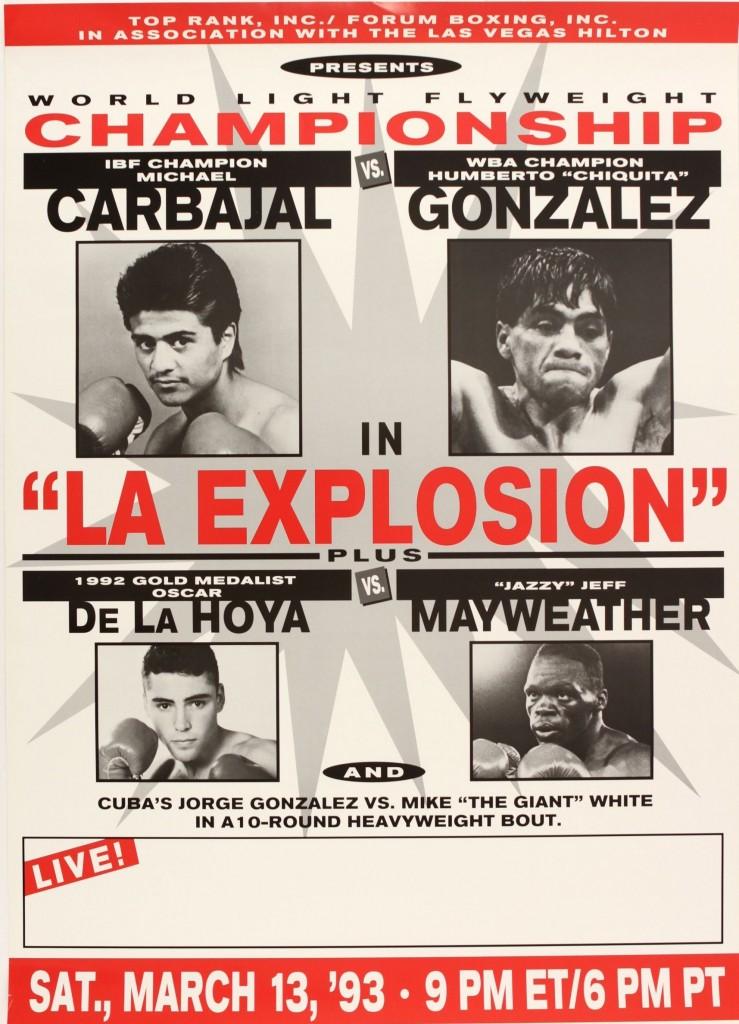 Poster Carvajal vs González