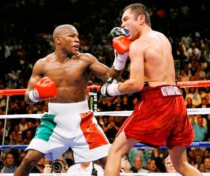 Floyd Mayweather vs De la Hoya