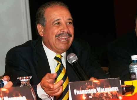 Presidente de la OMB Paco Valcárcel