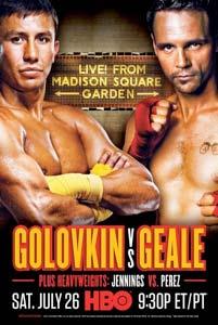 Golovin vs Geale, duelo de campeones en Nueva York.