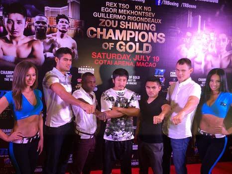 Crédito Fotos: Luis Zápari, Zápari Boxing Promotions