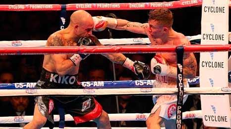 Kiko Martínez vs Carl Frampton
