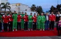 Equipos de México y de Argelia