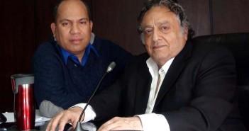 Gabriel F Cordero con José Sulaimán