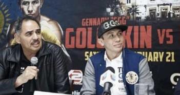 Abel Sánchez y Gennady Golovkin