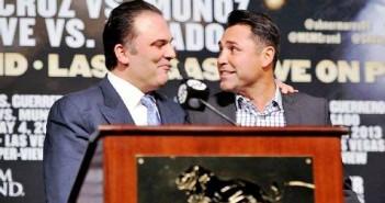 Richard Schaefer y Óscar De la Hoya