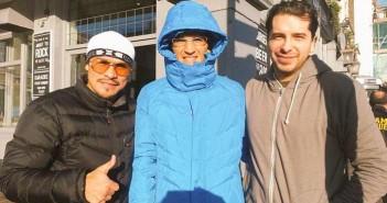 Juan Manuel Marquez junto a  Daniel Estrada