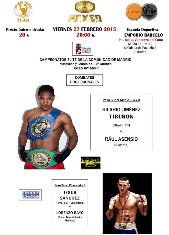 BOXEO---EMPORIO-BARCELO---Viernes-27-Febrero-2015