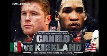 Canelo se enfrntará a  Kirkland el 9 de mayo