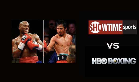 Mayweather vs Pacquiao en Showtime y HBO