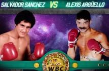 Sal Sánchez y Alexis Arguello