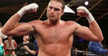 El británico Tyson Fury