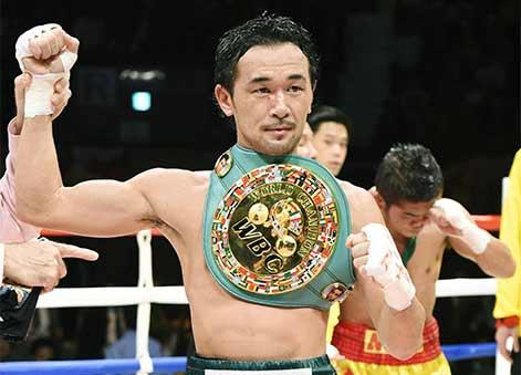 Shinsuke Yamanaka campeón gallo CMB