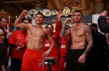 HBO: Pesaje Golovkin vs Murray