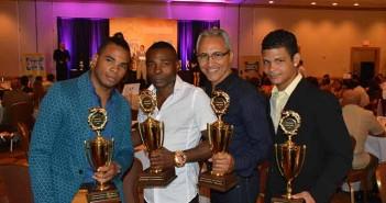 Foto & Teto: Reynaldo Sánchez - Socorras, RIgondeaux, Jorge Rubio y Machado