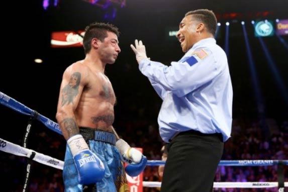 Mattysse en su pelea con García