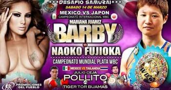 """Mariana """"Barby"""" Juárez vs Naoko Fujioka"""