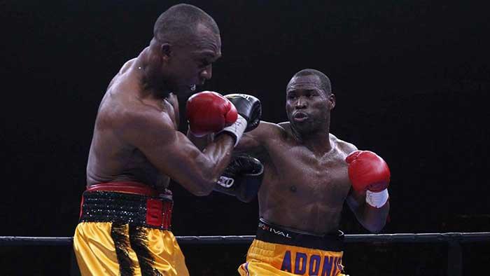 Foto CBS: Adonis Stevenson vs Sakio Bika