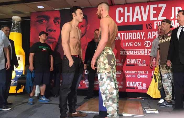 Chávez Jr. vs Fonfara