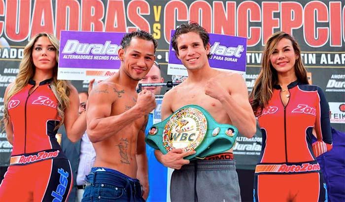 """""""Nica"""" Concepción vs Carlos Cuadras"""
