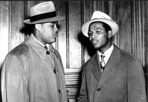 Joe Louis y Sugar Ray Robinson