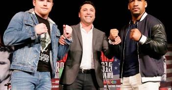 Canelo, De la Hoya y Kirkland