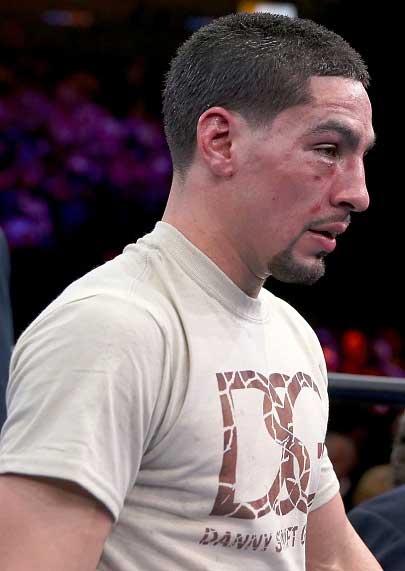 Danny García tras la pelea con Peterson