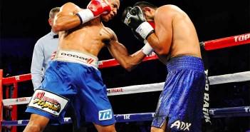 Félix Verdejo vs López (Foto cortesía: Peter Amador / Top Rank)
