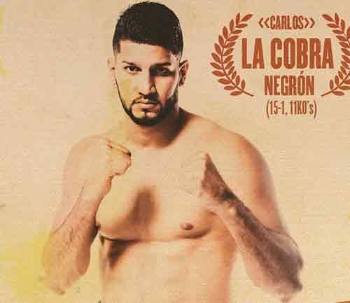 """Carlos """"La Cobra"""" Negrón"""