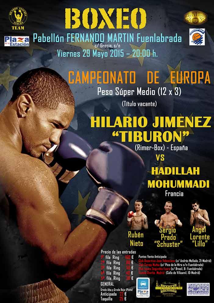 cartel-BOXEO---Cº-EUROPA-Tiburon-vs-Mohummadi-29-05-15