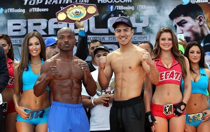 Bradley vs Vargas - Foto Chris Farina