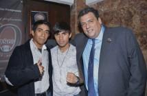 Ganigan López, Pedro Guevara y Mauricio Sulaimán