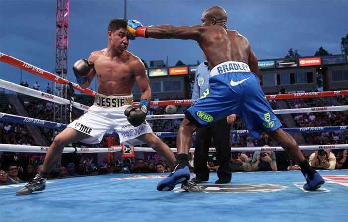 Vargas vs Bradley Foto: Top Rank
