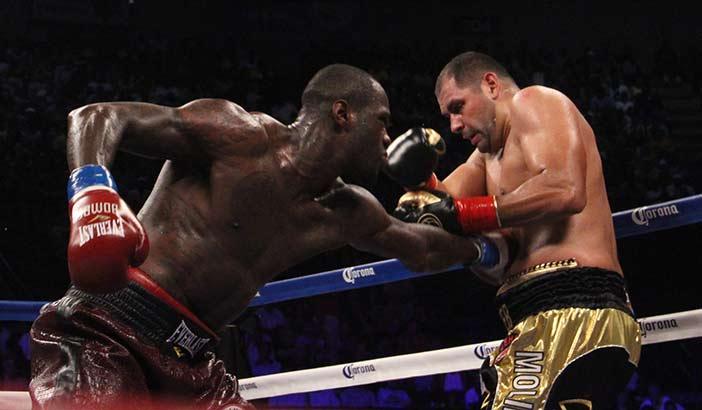 Wilder vs Molina PHOTO CREDIT: SUMIO YAMADA