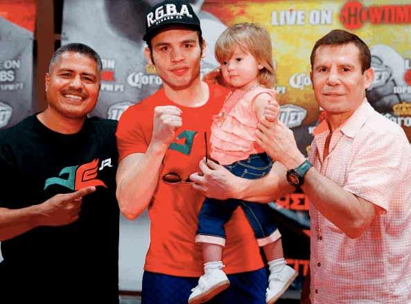 García, Chávez Jr. y J.C. Chávez