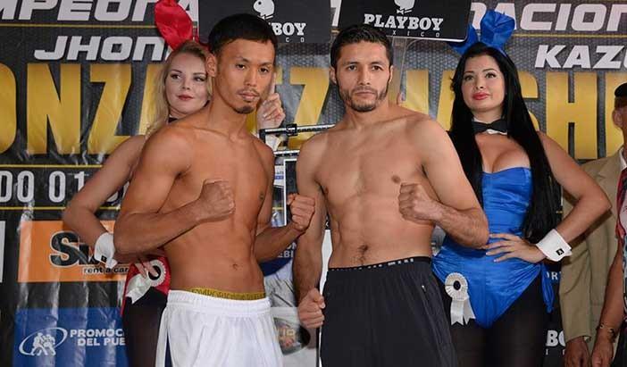 Listos Jhonny González vs Kazuki Hashimoto