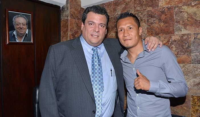 Mauricio Sulaimán y Francisco Vargas