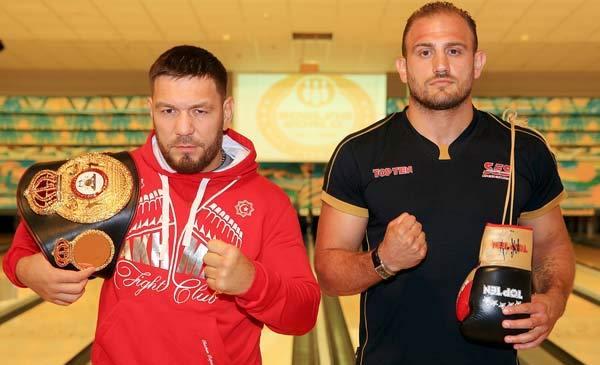 Ruslan Chagaev y Francesco Pianeta