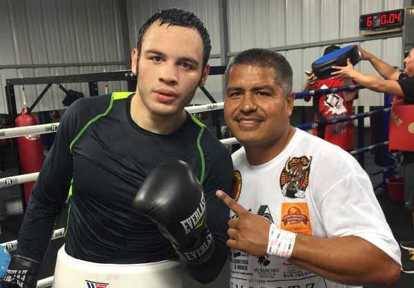 Chávez Jr. podría dejar a Robert García para volver con Freddie Roach.