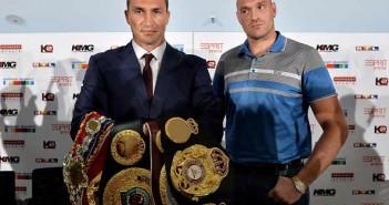 Klitschko y Fury