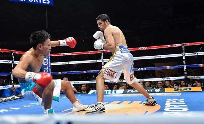 Kazuki Hashimoto vs Jonny Gonzáles - Foto: Promociones del Pueblo