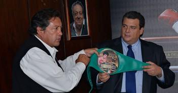 El CMB homenajea a Salvador Sanchez