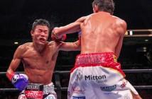 Jamie McDonnell vs Tomoki Kameda. (Lucas Noonan / Premier Boxing Champions)