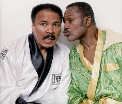 Ali y Frazier años después
